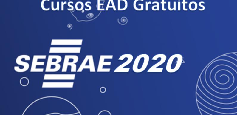 Cursos Gratuitos SEBRAE 2020 – Faça sua inscrição